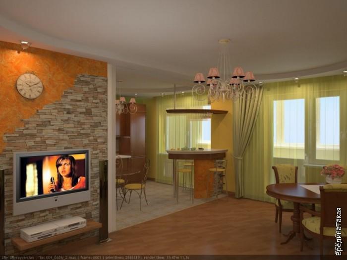 Дизайны комнат в обычной квартире
