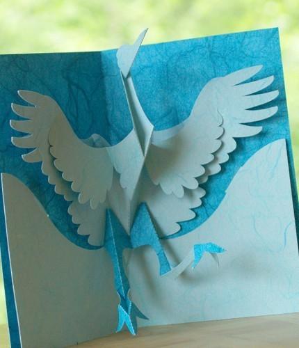 """Киригами. это современный вид японского искусства, который с японского языка переводиться  """"резать бумагу """"."""