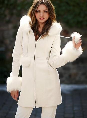 Куртки и пальто 2010 от Victorias Secret.