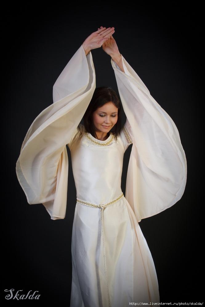 Эльфийские платья выкройка