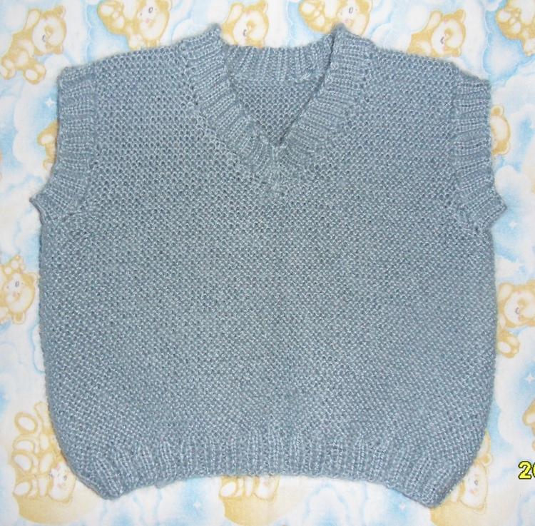 Вязание мужской одежди описание