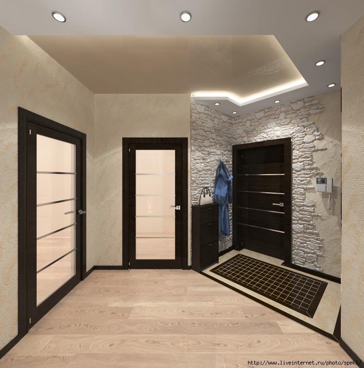 Дизайн проект ремонта трехкомнатной квартиры