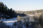 [+] Увеличить - Замерзшая река