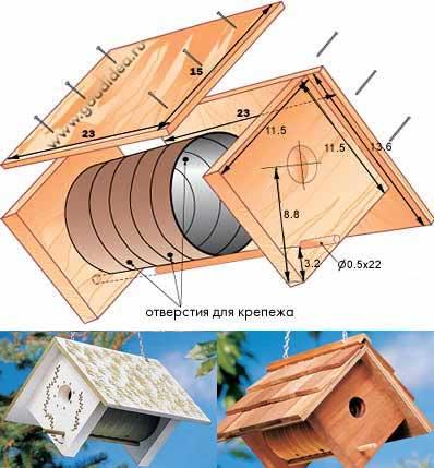 Сделать дом для птиц