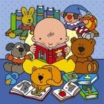малыш читает