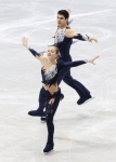 GANGNEUNG, SOUTH KOREA - MARCH 02:  Anna Khnychenkova and Mark Magyar of Hungary compete in the Pair Short on day three of the 2011 World Junior Figure Skating Championships at Gangneung International Ice Rink on March 2, 2011 in Gangneung, South Korea.