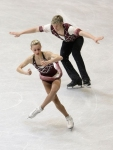 GANGNEUNG, SOUTH KOREA - MARCH 03:  Ashley Cain and Joshua Reagan of United States compete in the Pairs Free on day four of the 2011 World Junior Figure Skating Championships at Gangneung International Ice Rink on March 3, 2011 in Gangneung, South Korea.