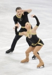 GANGNEUNG, SOUTH KOREA - MARCH 03:  Anais Morand and Timothy Leemann of Switzerland compete in the Pairs Free on day four of the 2011 World Junior Figure Skating Championships at Gangneung International Ice Rink on March 3, 2011 in Gangneung, South Korea.