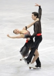GANGNEUNG, SOUTH KOREA - MARCH 04:  Anastasia Cannuscio and Colin Mcmanus of United States compete in the Ice Dance Free on day five of the 2011 World Junior Figure Skating Championships at Gangneung International Ice Rink on March 4, 2011 in Gangneung, S