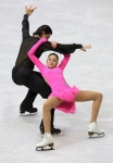 GANGNEUNG, SOUTH KOREA - MARCH 04:  Karina Uzurova and Ilias Ali of Kazakhstan compete in the Ice Dance Free on day five of the 2011 World Junior Figure Skating Championships at Gangneung International Ice Rink on March 4, 2011 in Gangneung, South Korea.