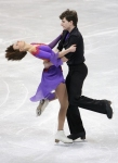GANGNEUNG, SOUTH KOREA - MARCH 04:  Dominique Dieck and Michael Zenkner of Germany compete in the Ice Dance Free on day five of the 2011 World Junior Figure Skating Championships at Gangneung International Ice Rink on March 4, 2011 in Gangneung, South Kor