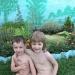 Мои внуки-голыши!!