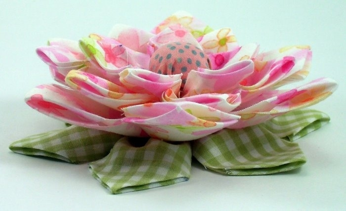 flowers for accessories: patchwork lovely flowers