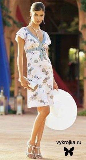 Фотографии пользователя.  Выкройка летнего сарафана. малая_таня.