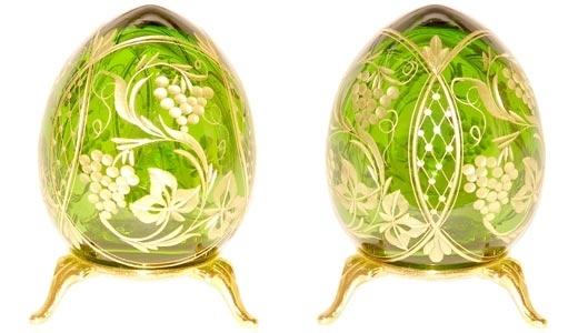 Пасхальное яйцо русских мастеров.  Роспись.  Примеры.