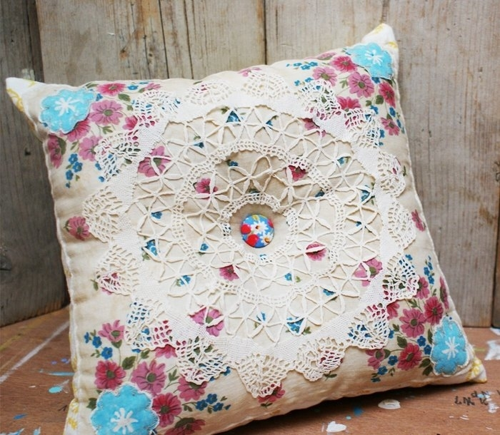 beautiful pillow for sewing