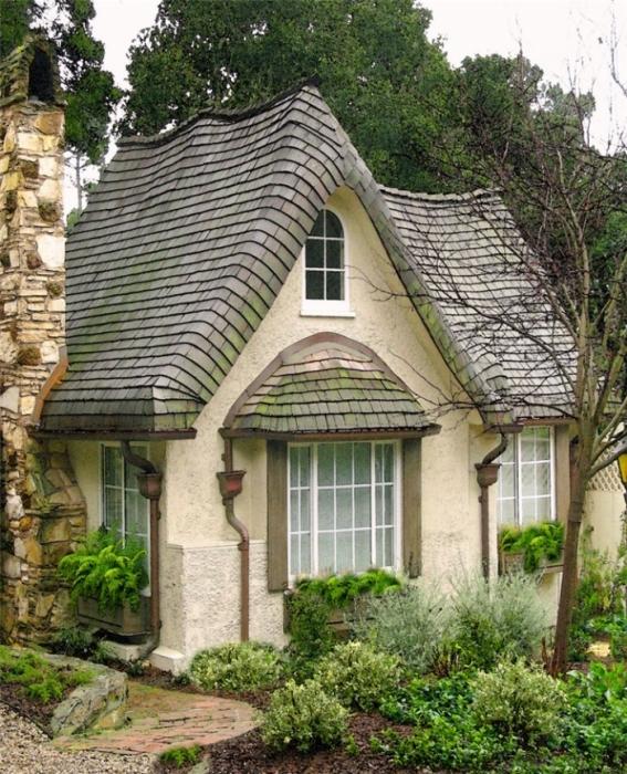 Красивые садовые домики