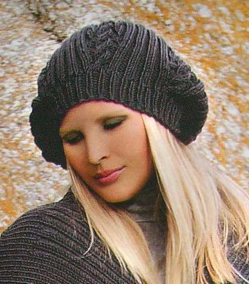 Вязание спицами бесплатные модели и схемы для вязания шапок и.