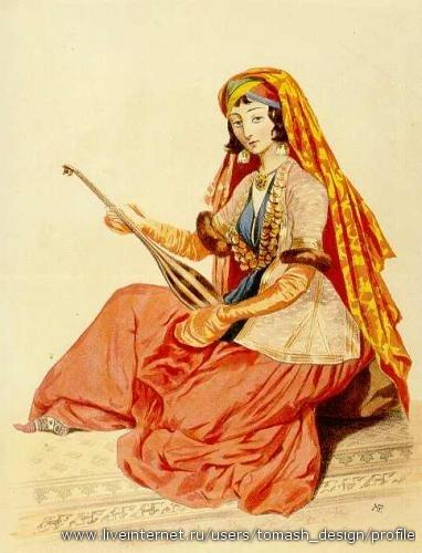 Векторные рисунки людей в национальных костюмах различных народов и национальностей.