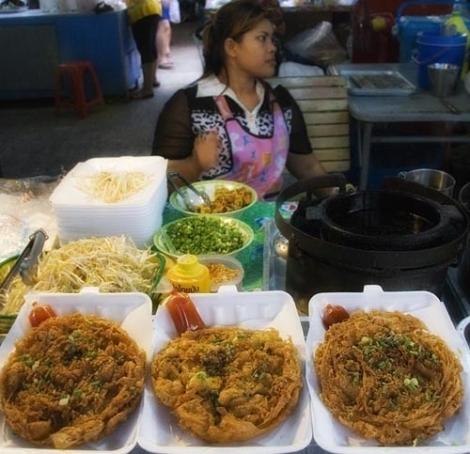 тайские омлеты