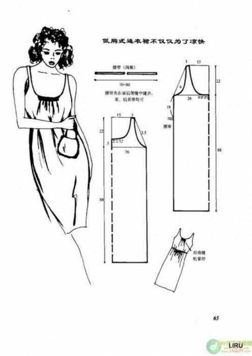 Сарафаны и платья с выкройкой