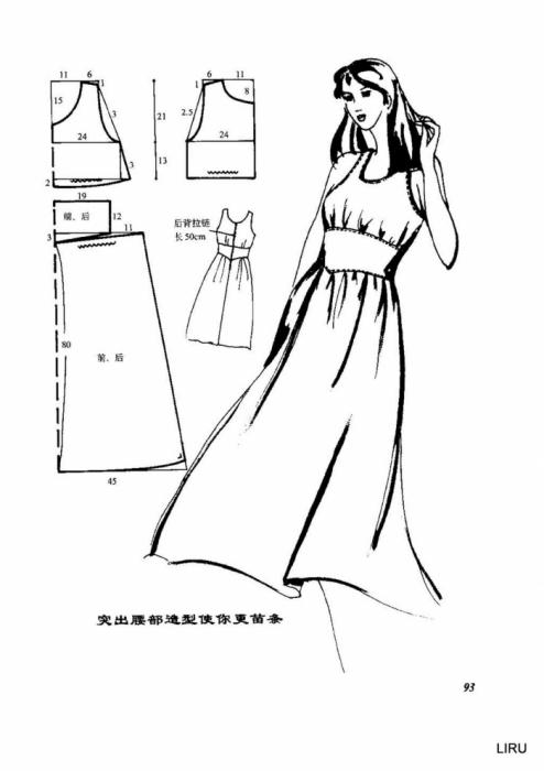 Летние платья выкройки фото 1