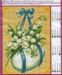 В журнале цветные схемы для вышивки крестом. depositfiles.com.