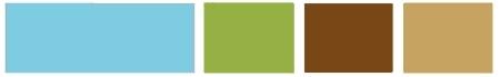 лазурь-зеленое яблоко-корица-мокрый песок