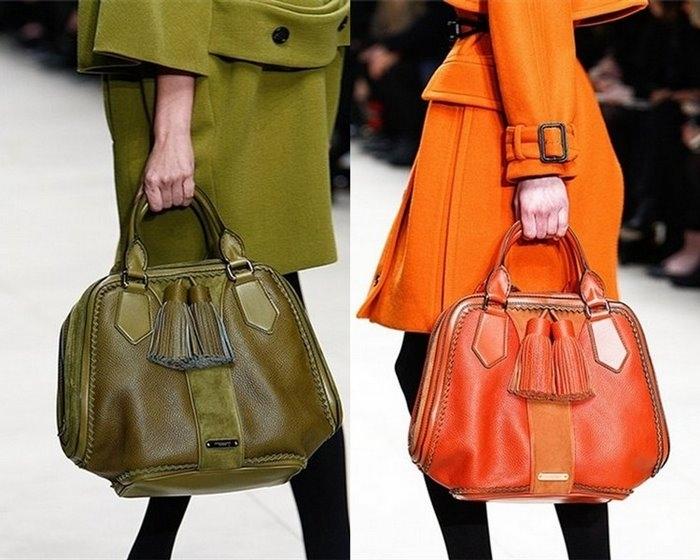 Модные сумки на зиму фото