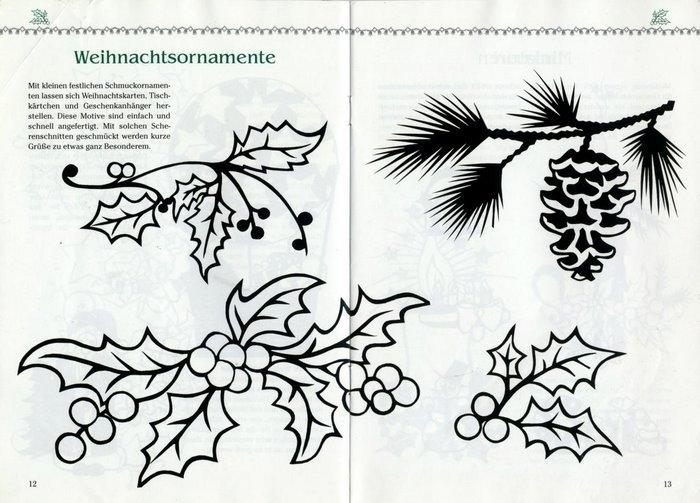 christmas paper craft ideas. Black Bedroom Furniture Sets. Home Design Ideas