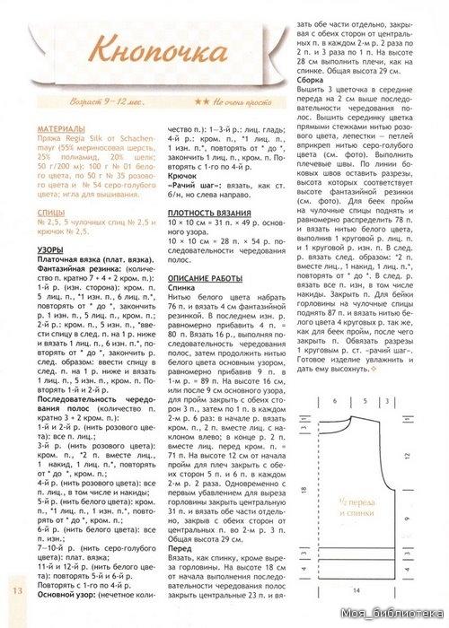 Журнал: Спицы. Вяжем для детей спец. №3 2011