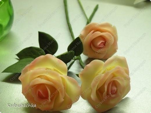 1. Цветы из фарфора) Для
