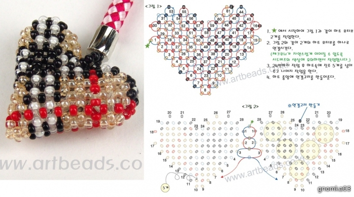 Сердечки из бисера могут быть созданы различными способами.  В этой статье мы рассмотрим объемные сердечки.