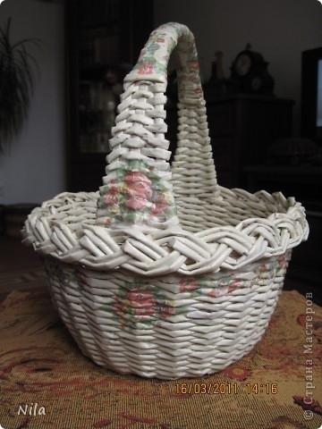 Плетения из газет своими руками