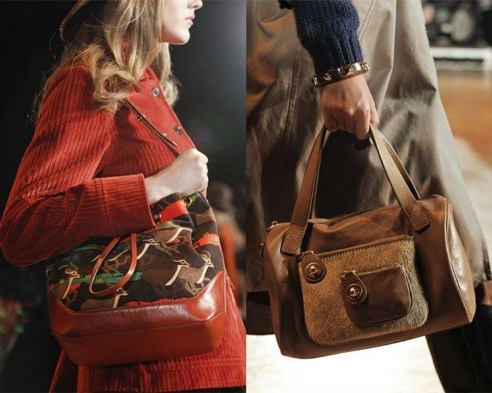 модные сумки осень зима 2012