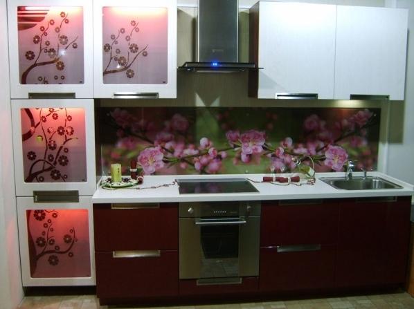 отделка стен кухни панелями фото.