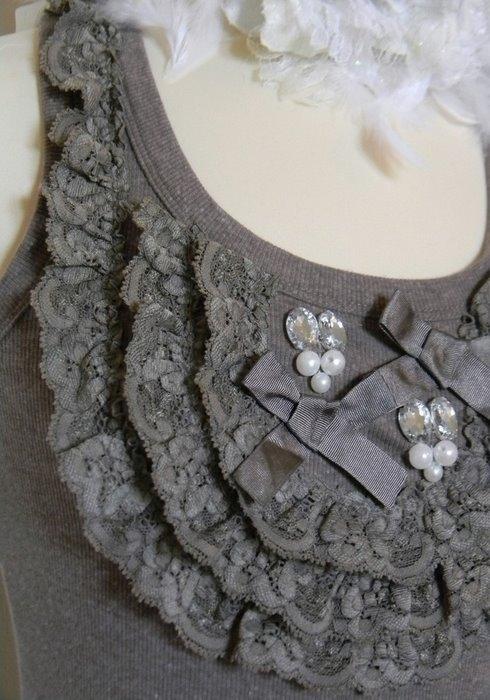 Превращение обычной майки в красивый топ: вторая жизнь старых вещей