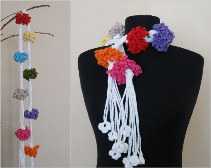 crochet scaves: more ideas