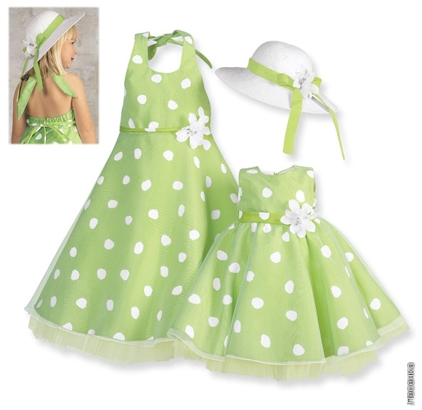 Платья для малышей сшитые своими руками