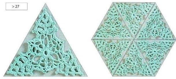 Мотивы треугольные. 1.