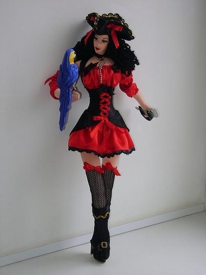 interior textile dolls