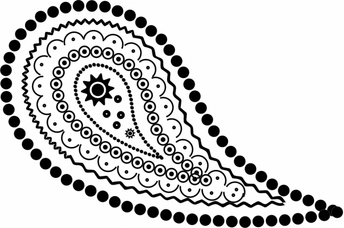 佩斯利图案(火腿纹) - maomao - 我随心动