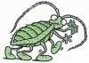 Поймайте на кухне таракана и внимательно к нему присмотритесь.