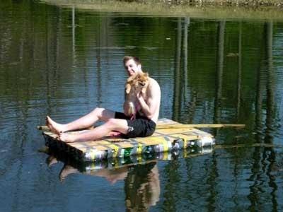 когдо же купаться можно будет,с таким плотиком вообще красота будет