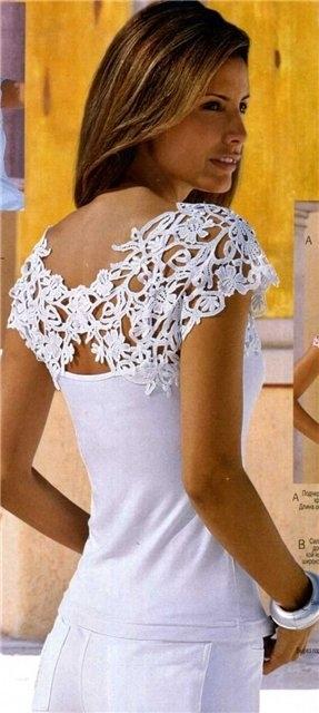 Идеи комбинирования ткани и вязания