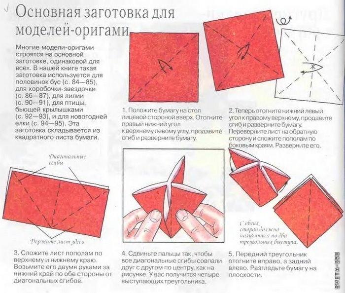 Оригами из бумаги инструкции по сборке