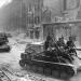 Самоходное орудие СУ-76 на улице Берлина  1945