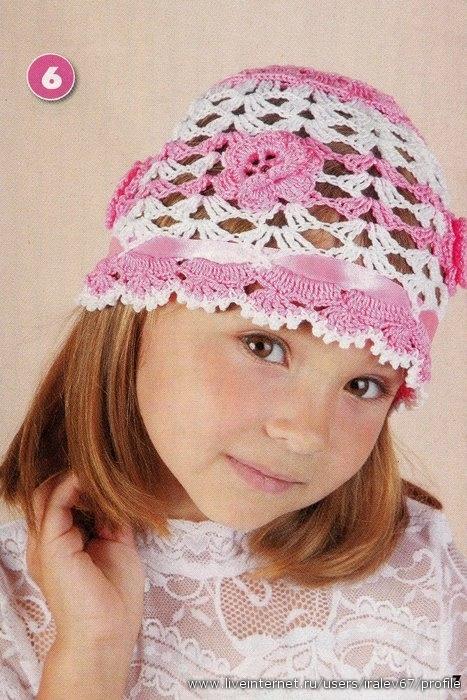 схемы вязания летних шапочек крючком Вязание для детей Доктор выглядел счастливым, Мэри сияла.