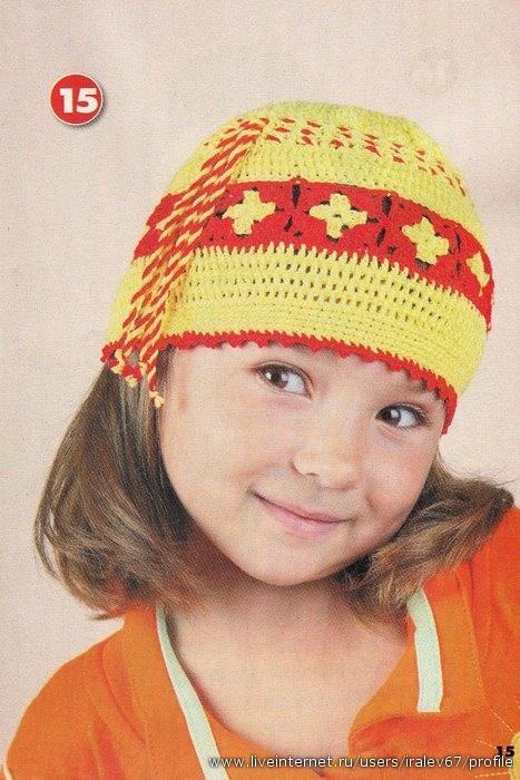 Фотографии пользователя.  Коллекция летних головных уборов для детей.  23 модели: яркие и веселые панамки, шапочки...