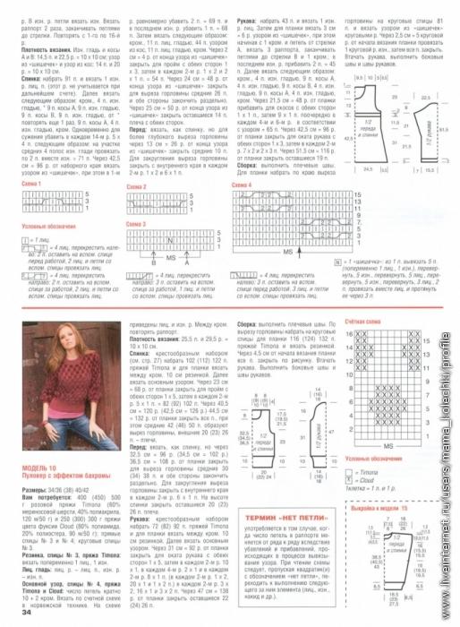 Журналы со схемами сабрина 2011